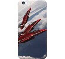 Red Arrows Trio iPhone Case/Skin