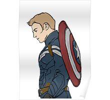 Captain America - Steve Rogers - Marvel Poster