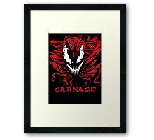 Carnage Primed Framed Print