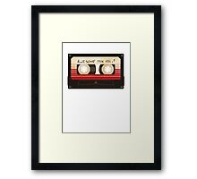 Guardians of the Galaxy - Awesome Mix Framed Print