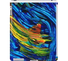 Colorful Abstract Art - Energy Flow 5 - By Sharon Cummings iPad Case/Skin