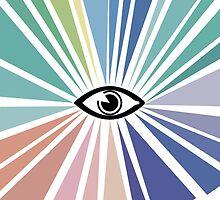 all seeing eye  by nobra