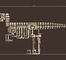 Velociraptor by saimen