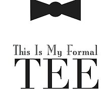 This is my formal TEE by agraphic