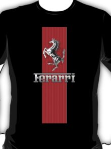 Ferrari Lover #3 [Silver - Red] T-Shirt