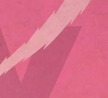 Yz the Thunderbolt - Superhero Minimalist Alphabet Print Art Sticker