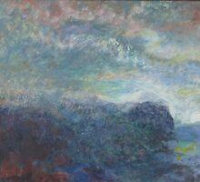 TORTOLITA MOUNTAINS SUNRISE by Glenn Johnson
