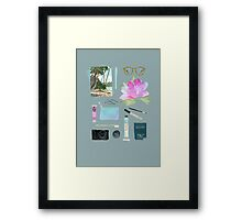 GOING TO HAWAII Framed Print