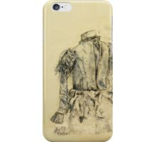 Blustery blouse iPhone Case/Skin