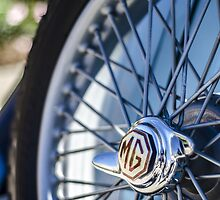 Classic MG Wire Wheel by psankey