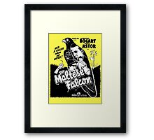 The Maltese Falcon Framed Print
