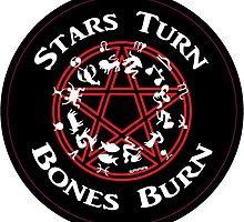 Stars Turn Bones Burn by miked777