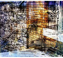THE URBAN WAY Photographic Print