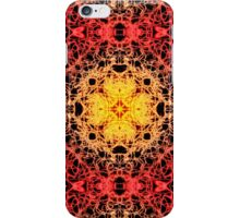 """Spirit of India: Fleur"": golden coral iPhone Case/Skin"