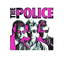 The Police Photographic Print