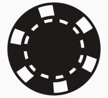 Casino poker chips by Designzz