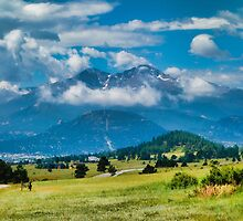 Estes Park from Glen Haven 2 by Robert Meyers-Lussier
