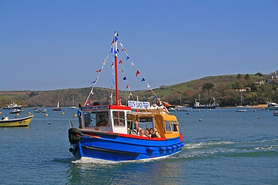 South Sands Ferry by RedHillDigital