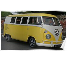 The Primrose Yellow Camper Poster