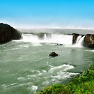 Goðafoss in Iceland by Steve