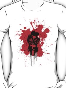 Skeleton Splatter T-Shirt