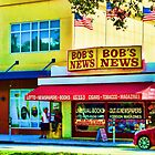 Bob's News Bookstore Fort Lauderdale by GolemAura