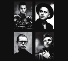 Depeche Mode :  101 poster - For Black Shirt Kids Clothes