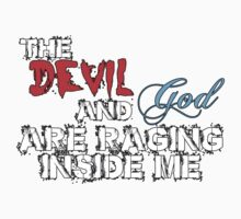 The Devil and God Kids Clothes