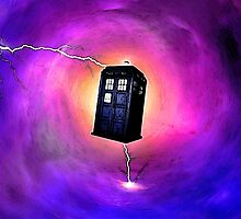 Tardis Travelling in Galaxy - DW by Mellark90