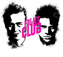 Fight Club duality by Eric Strange