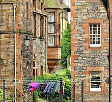 Well Court, Dean Village by Kasia-D