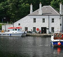 Crinan Locks by RedHillDigital
