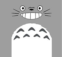 Totoro by tomatosoups