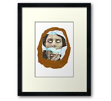 We're all strange Framed Print