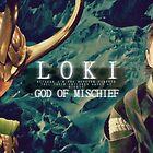 Loki Card No. 1 by Niamh Wilson