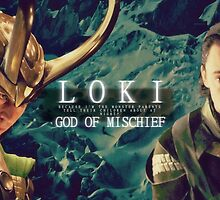 Loki Card No. 1 by Niamh Wilson