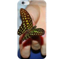 Butterfly catcher iPhone Case/Skin