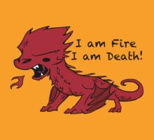 Baby Smaug - I am Fire, I am Death by Jae Kitinoja
