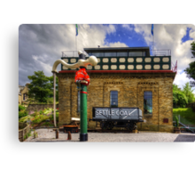 Settle Station Tank House Canvas Print