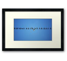 The Nonconformist Framed Print