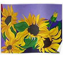 Sunflowers..Glimpses of God's Goodness Poster