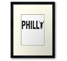 Philly State of Mind Framed Print