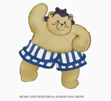 BEARS and FIGHTERS - E.Honda by MAISON-MACARONI