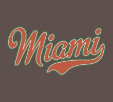 Miami Script Orange by Carolina Swagger