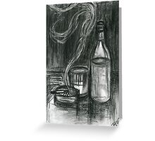 Cigarettes and Alcohol Greeting Card