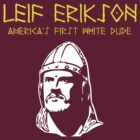 Leif Erikson for Dark T's Yellow-White by BlueEyedDevil