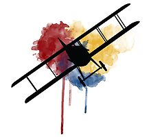 Watercolor Spad XIII by AlphaEchoing