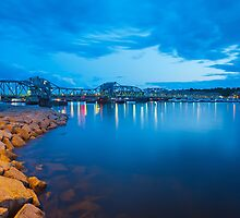 Sturgeon Bay Steel Bridge by Chuck Zacharias