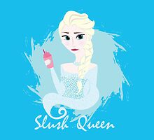 "Frozen's Elsa ""Slush Queen"" by underwatercity"