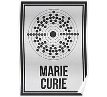 MARIE CURIE - Women in Science Collection Poster